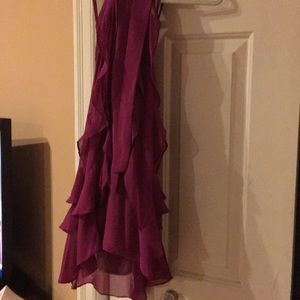 Used purple dress